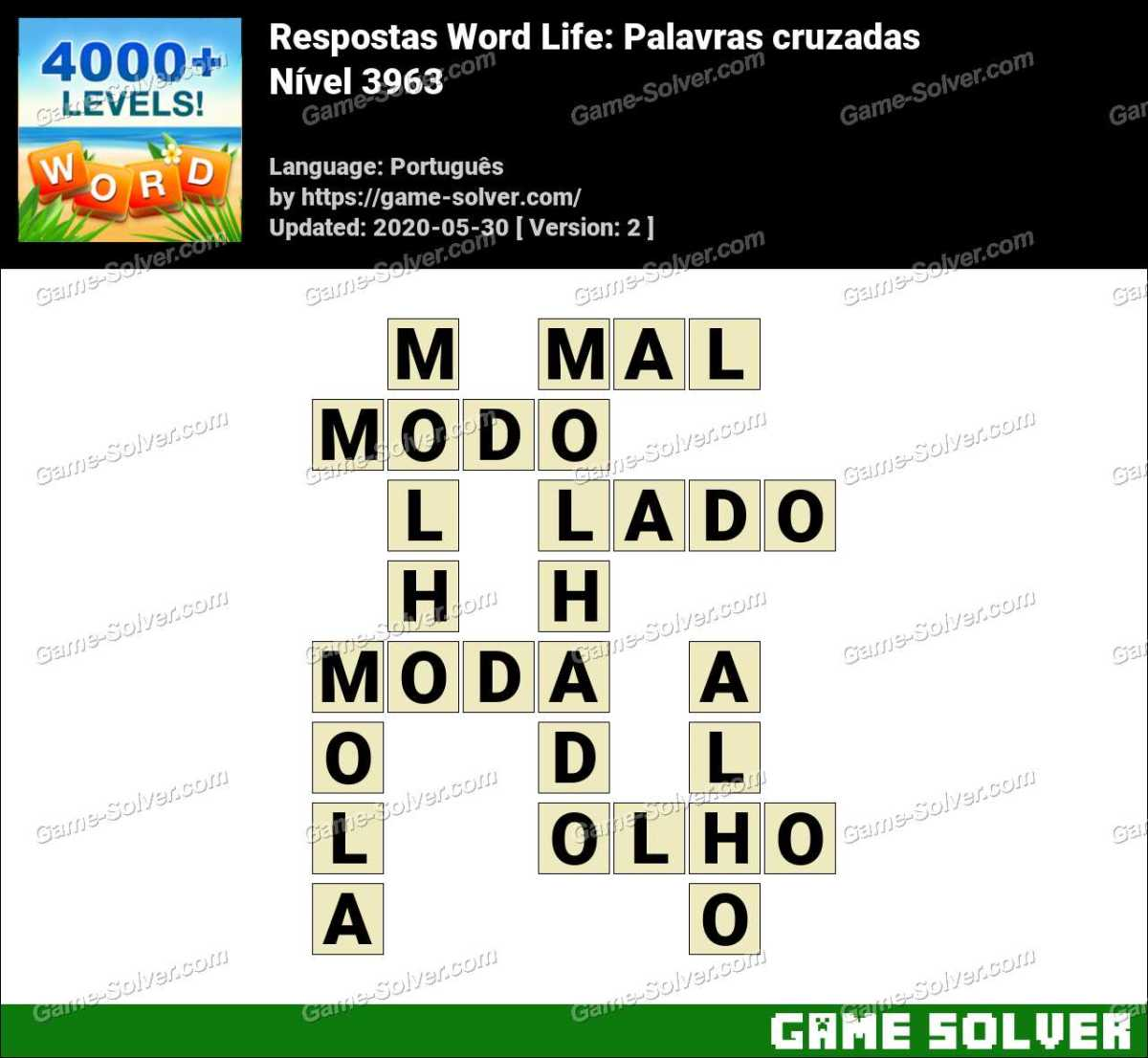 Respostas Word Life Nível 3963