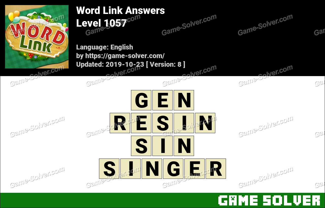 Word Link Level 1057 Answers