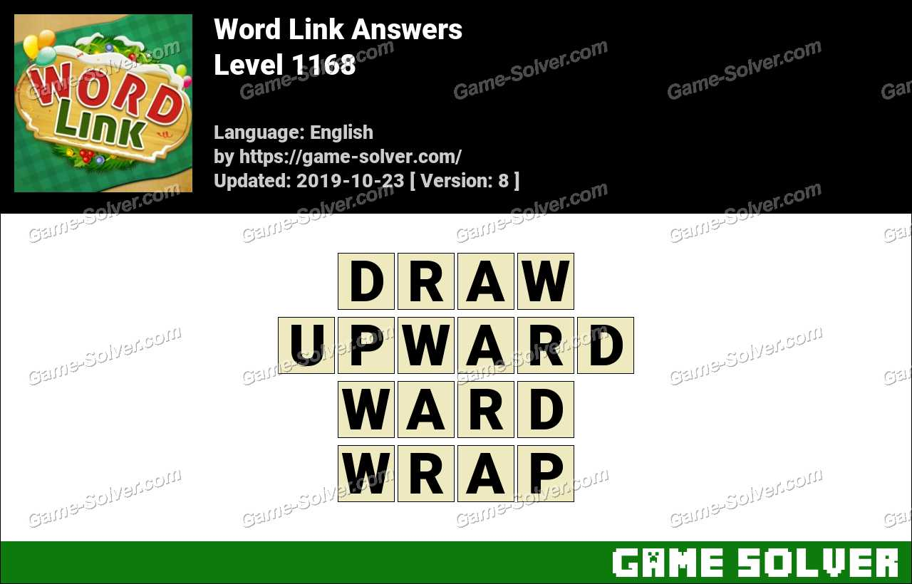 Word Link Level 1168 Answers