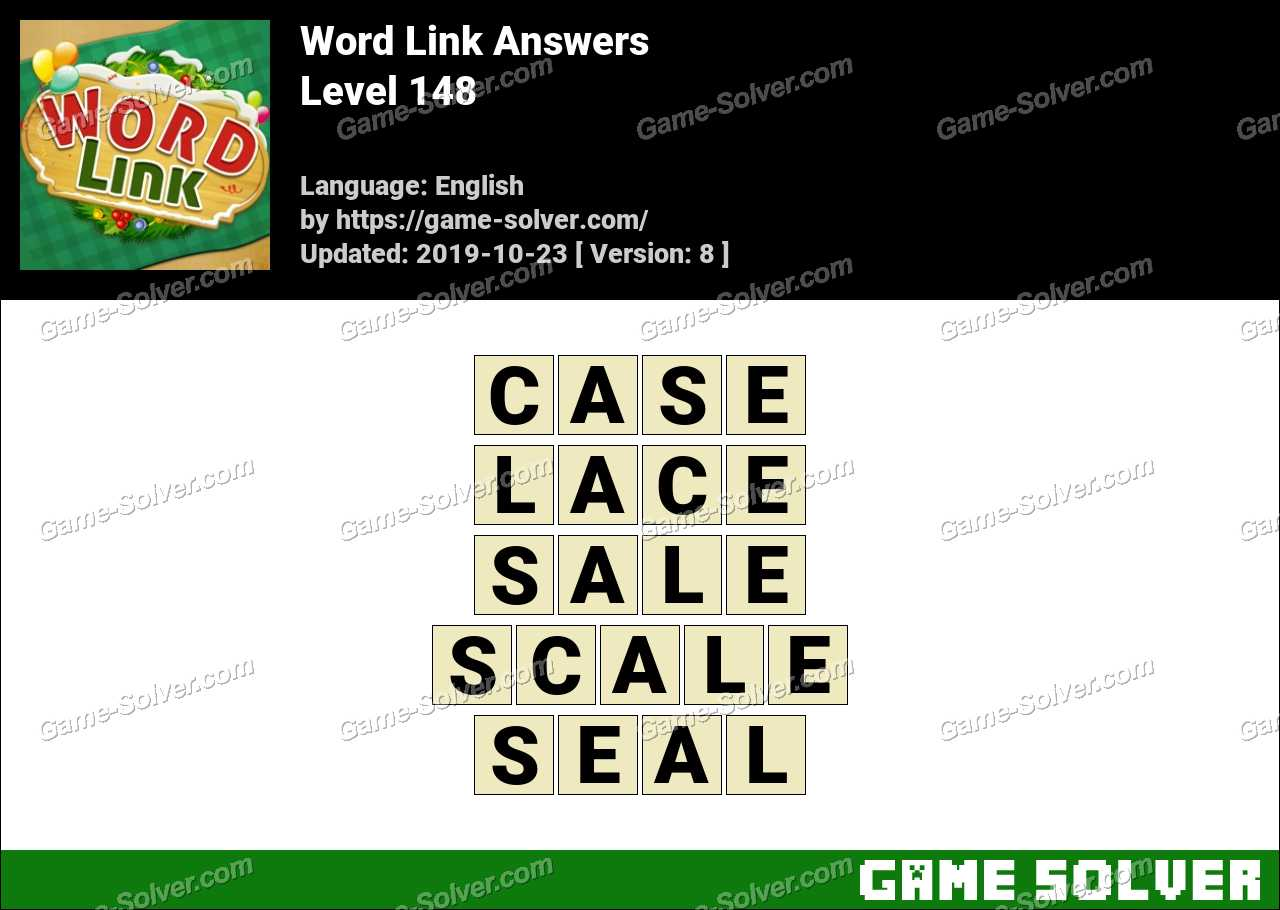 Word Link Level 148 Answers