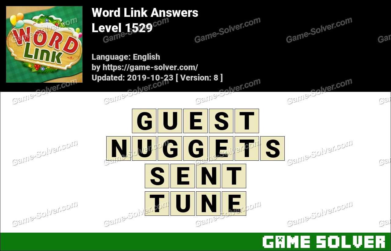 Word Link Level 1529 Answers