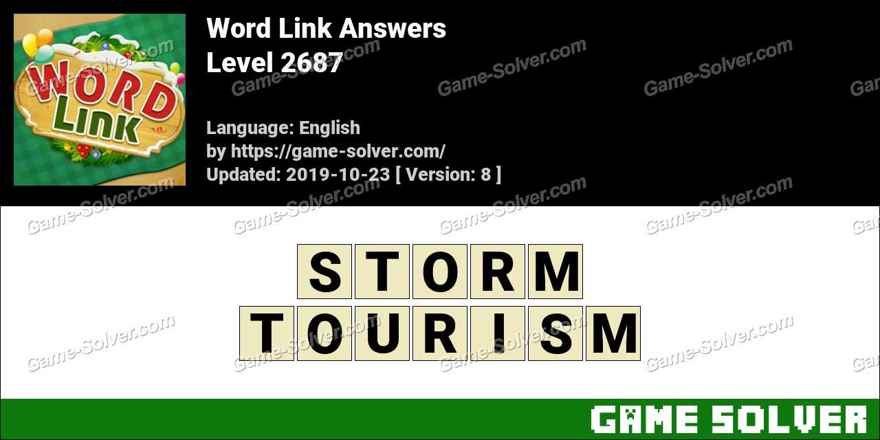 Word Link Level 2687 Answers