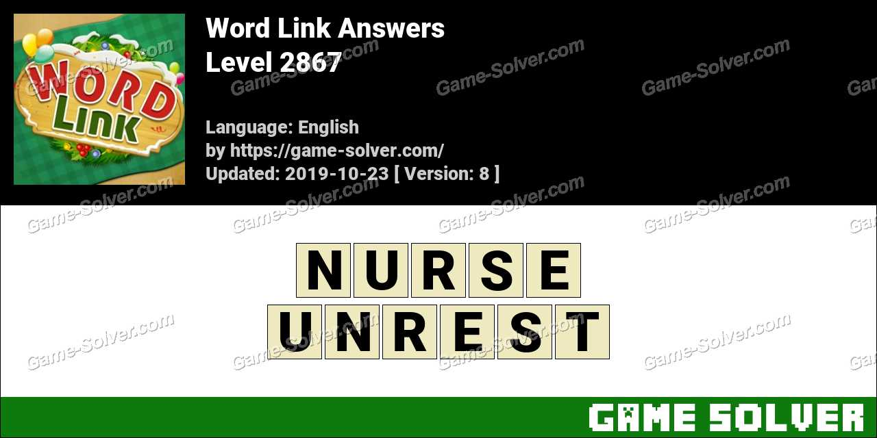 Word Link Level 2867 Answers