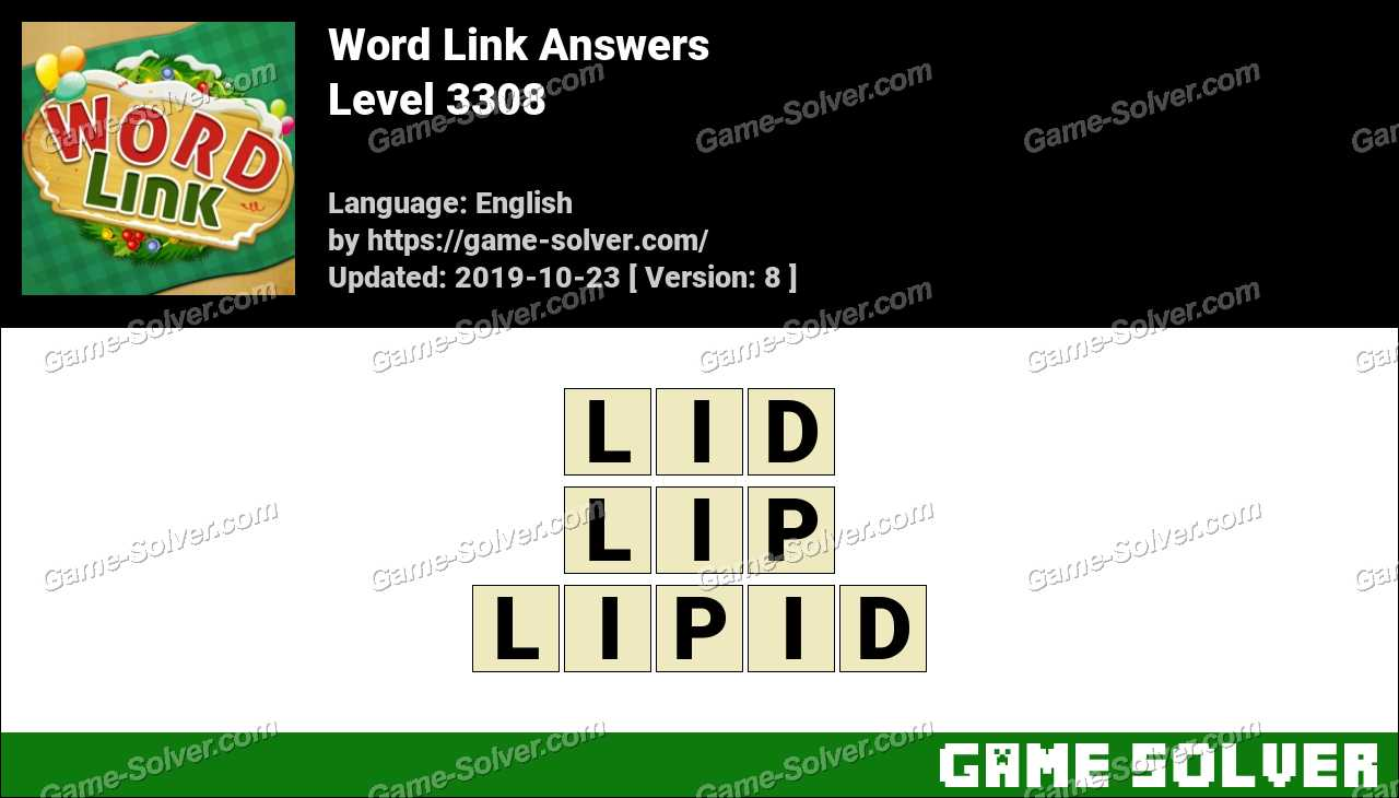 Word Link Level 3308 Answers