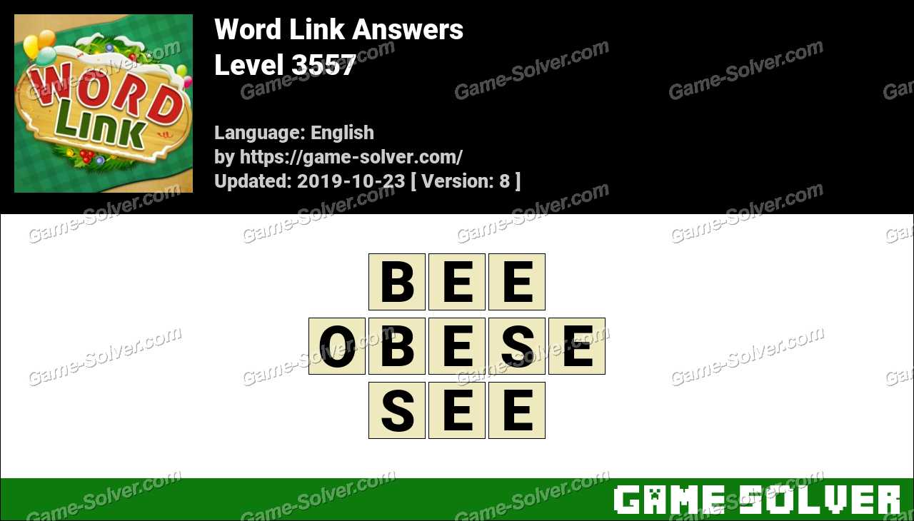 Word Link Level 3557 Answers