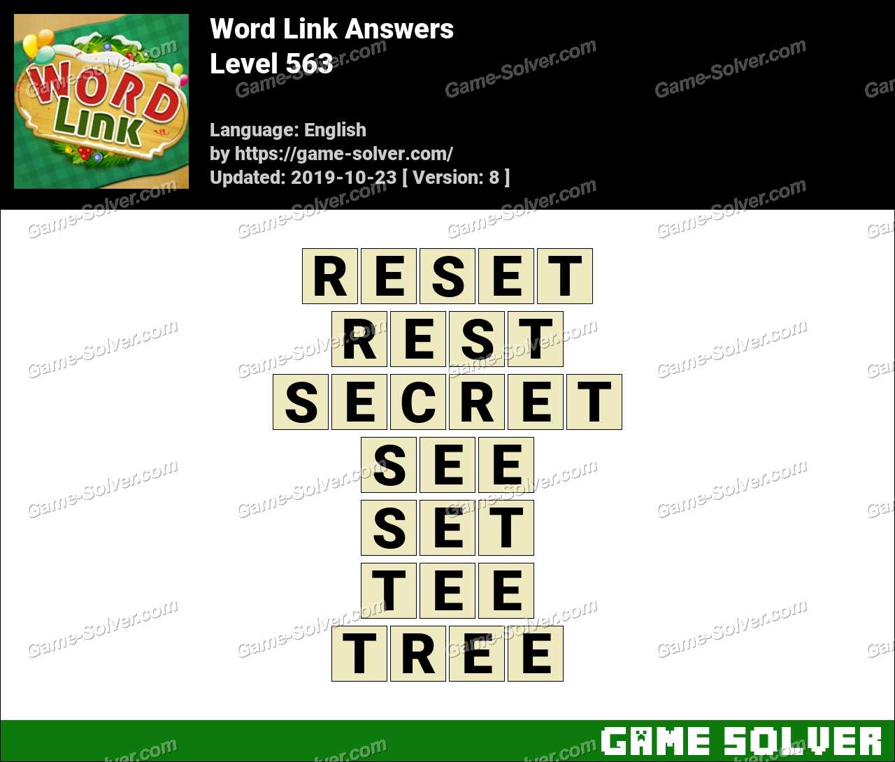 Word Link Level 563 Answers