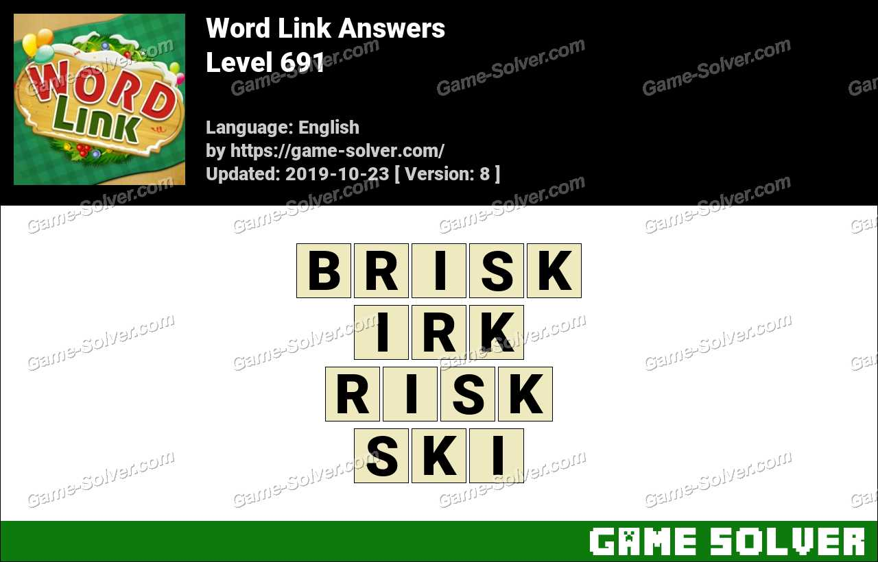 Word Link Level 691 Answers