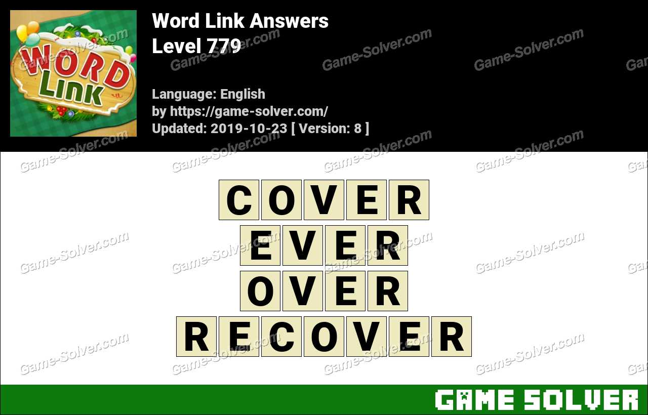 Word Link Level 779 Answers