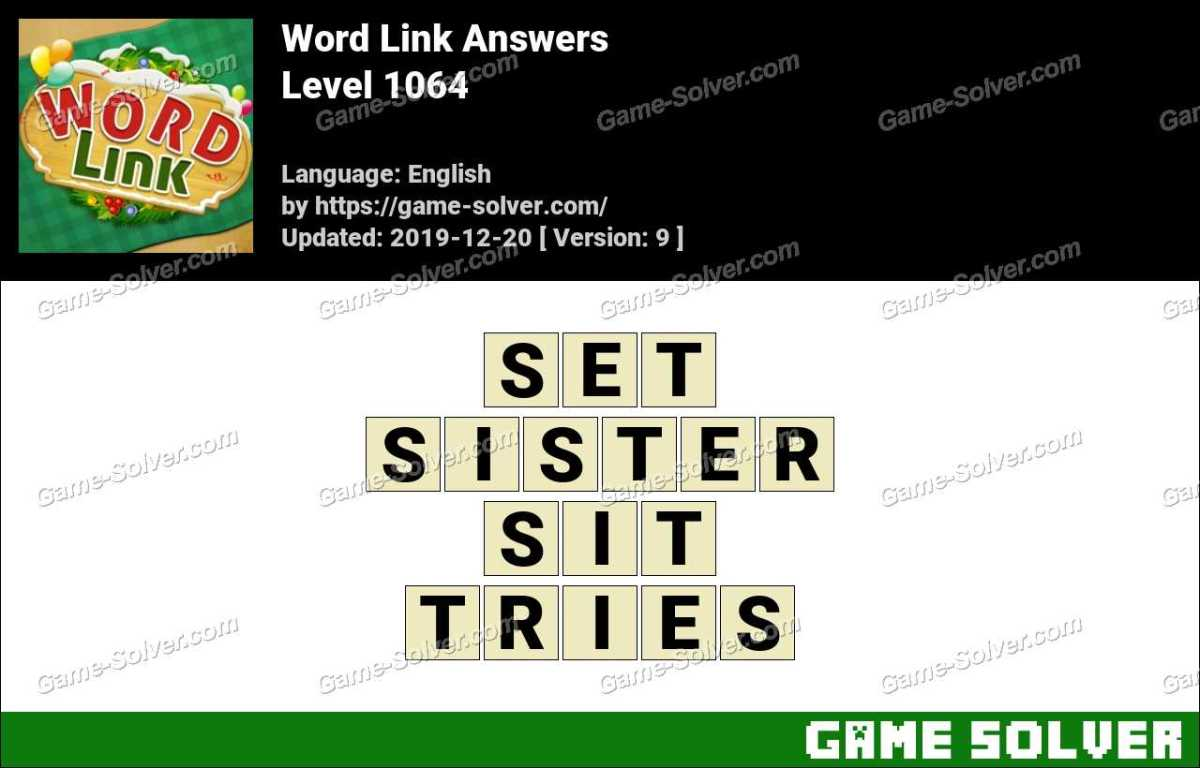 Word Link Level 1064 Answers