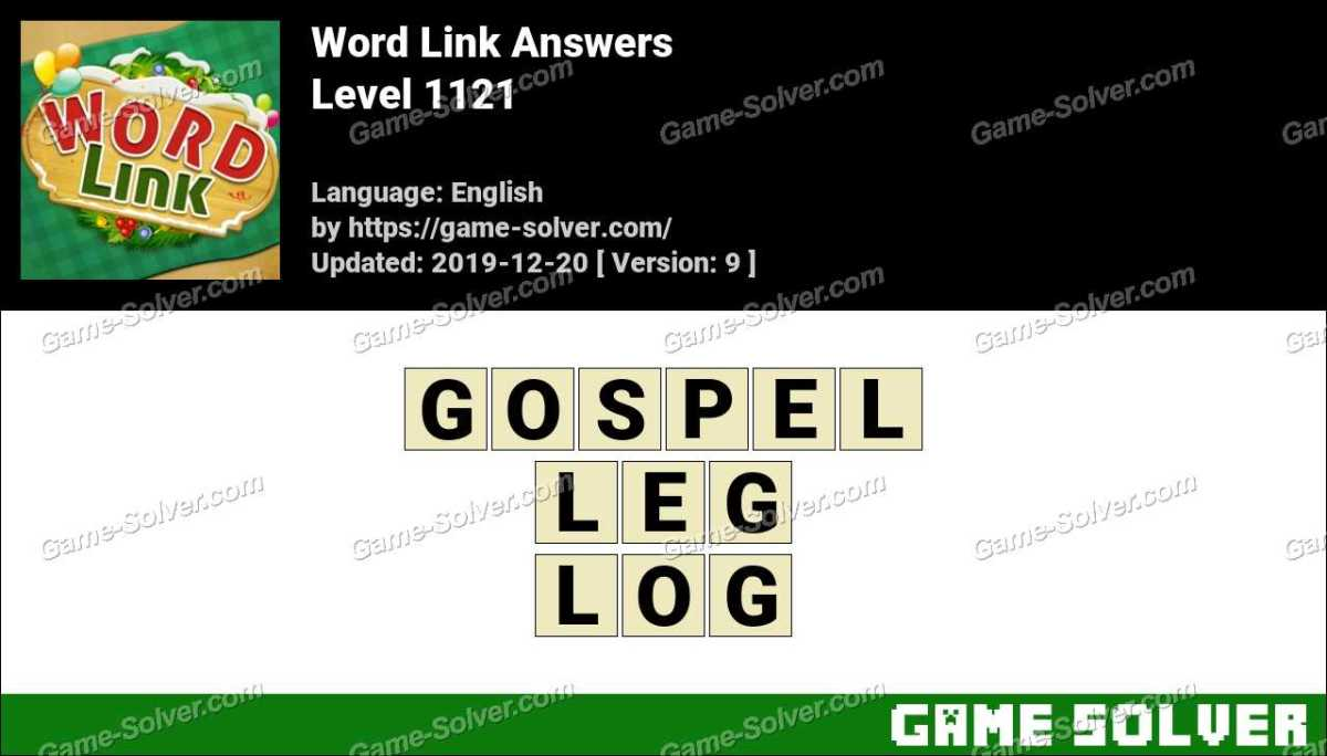 Word Link Level 1121 Answers