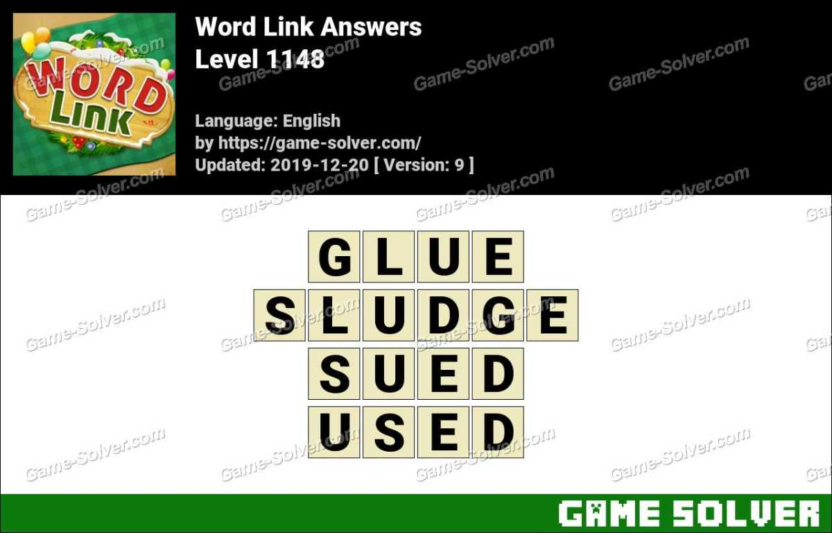 Word Link Level 1148 Answers
