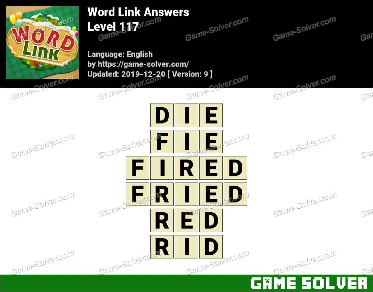 Word Link Level 117 Answers