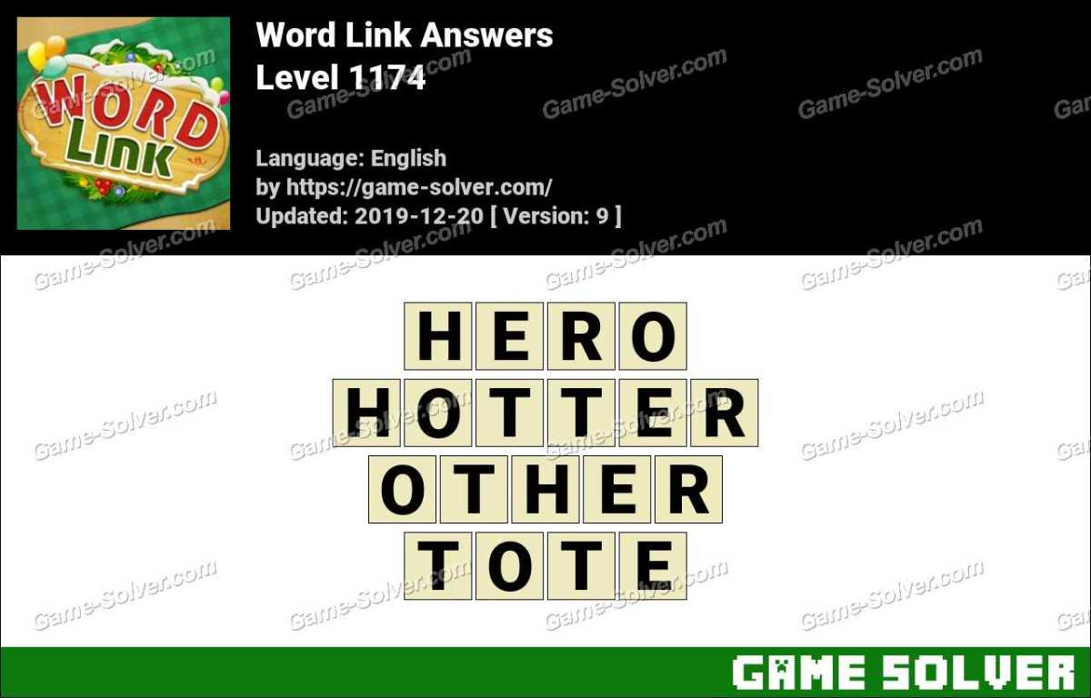Word Link Level 1174 Answers