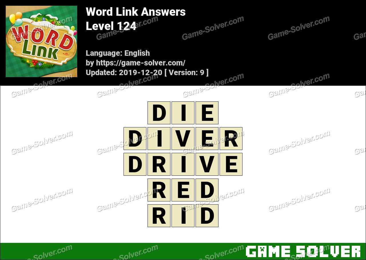 Word Link Level 124 Answers