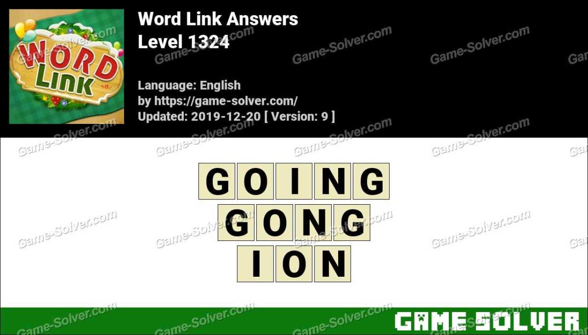 Word Link Level 1324 Answers