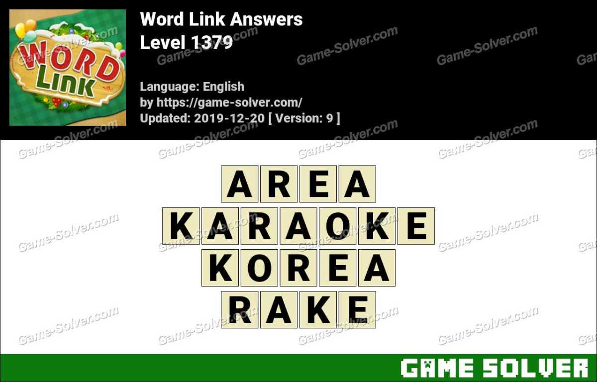 Word Link Level 1379 Answers