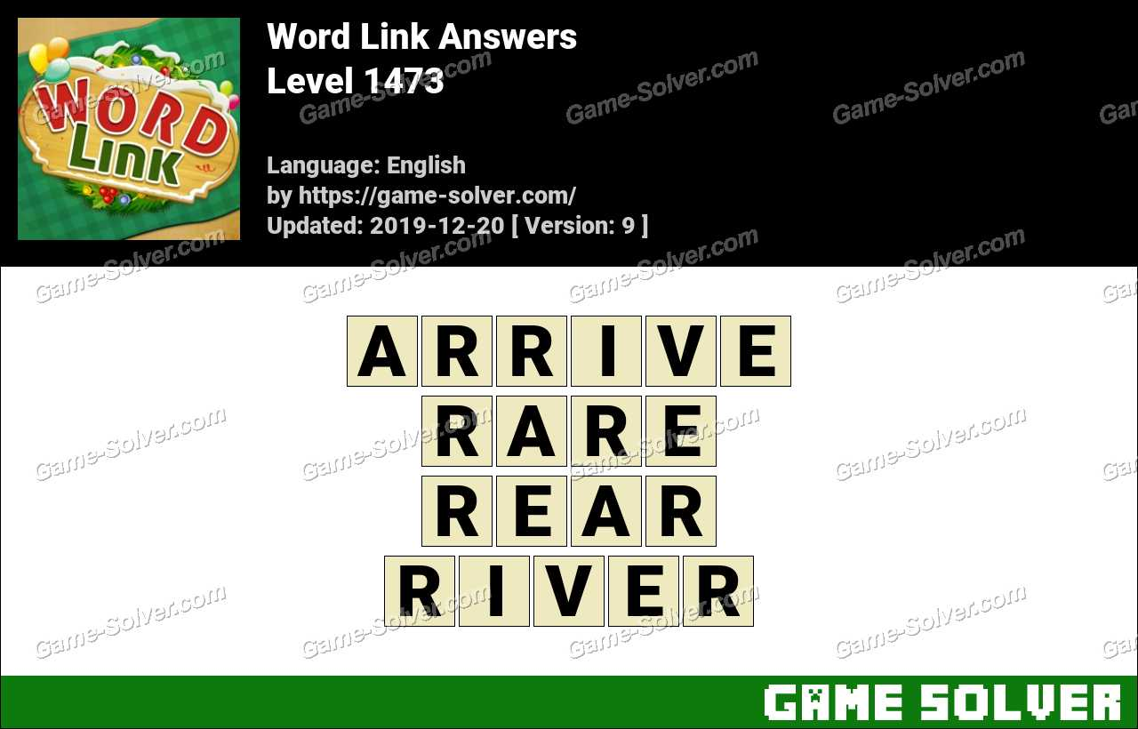 Word Link Level 1473 Answers