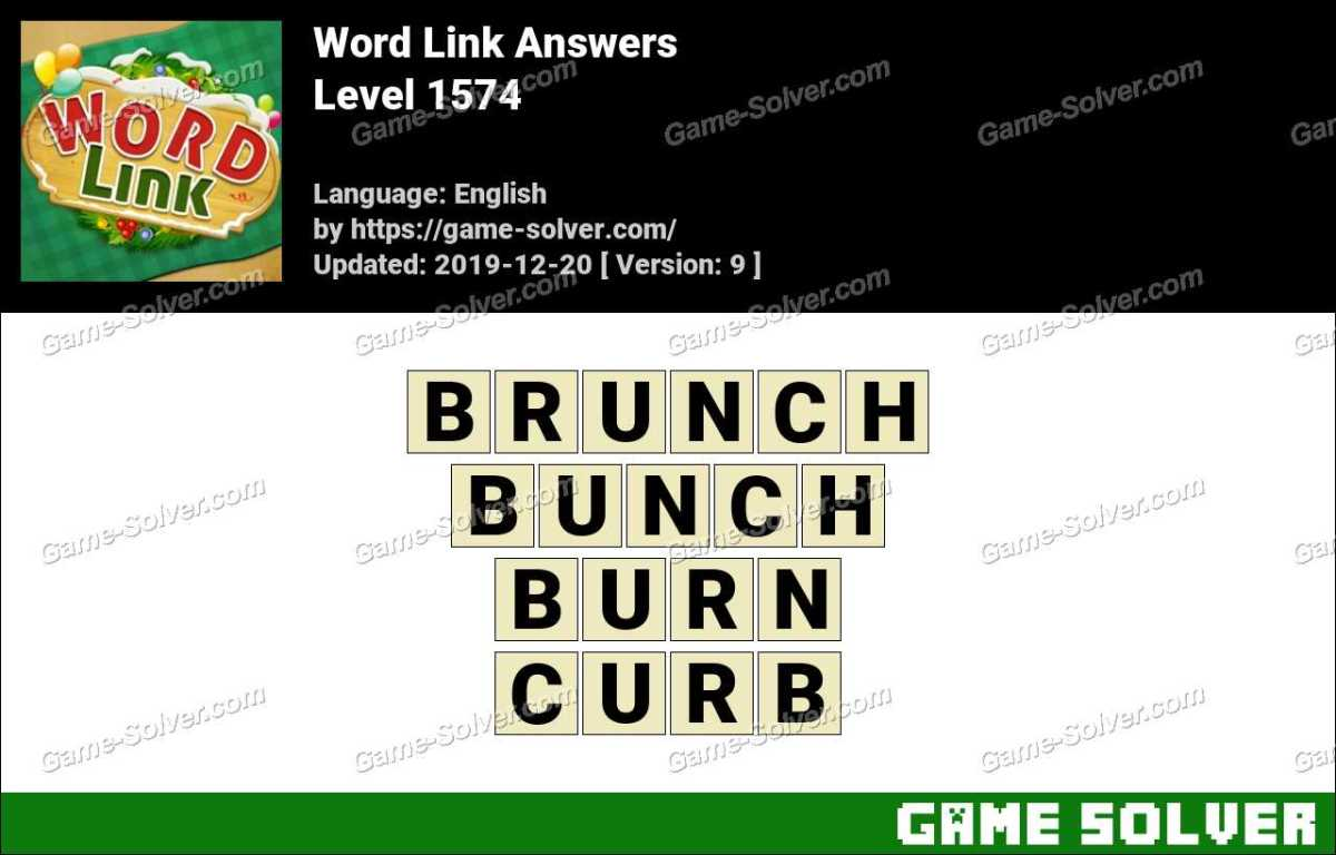 Word Link Level 1574 Answers