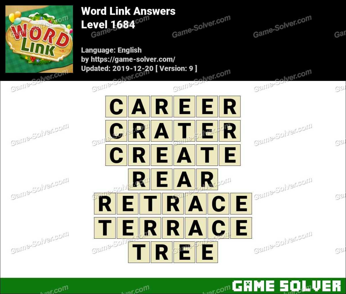 Word Link Level 1684 Answers