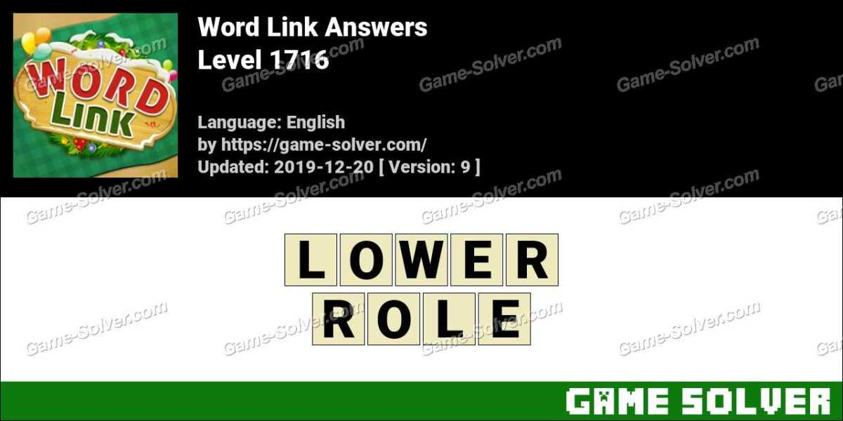 Word Link Level 1716 Answers