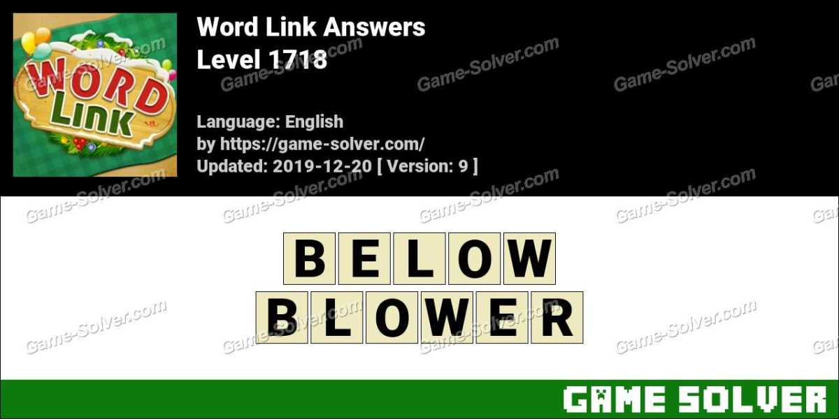 Word Link Level 1718 Answers