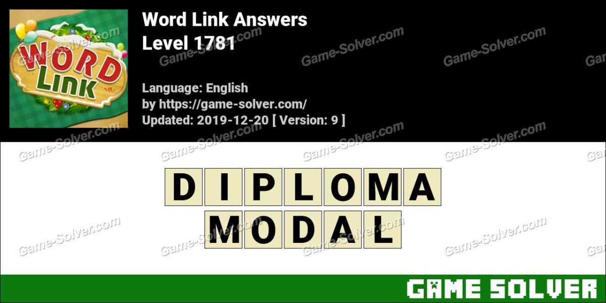 Word Link Level 1781 Answers