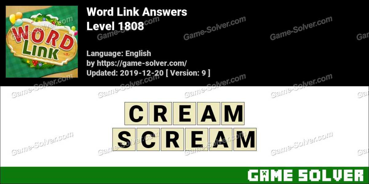 Word Link Level 1808 Answers
