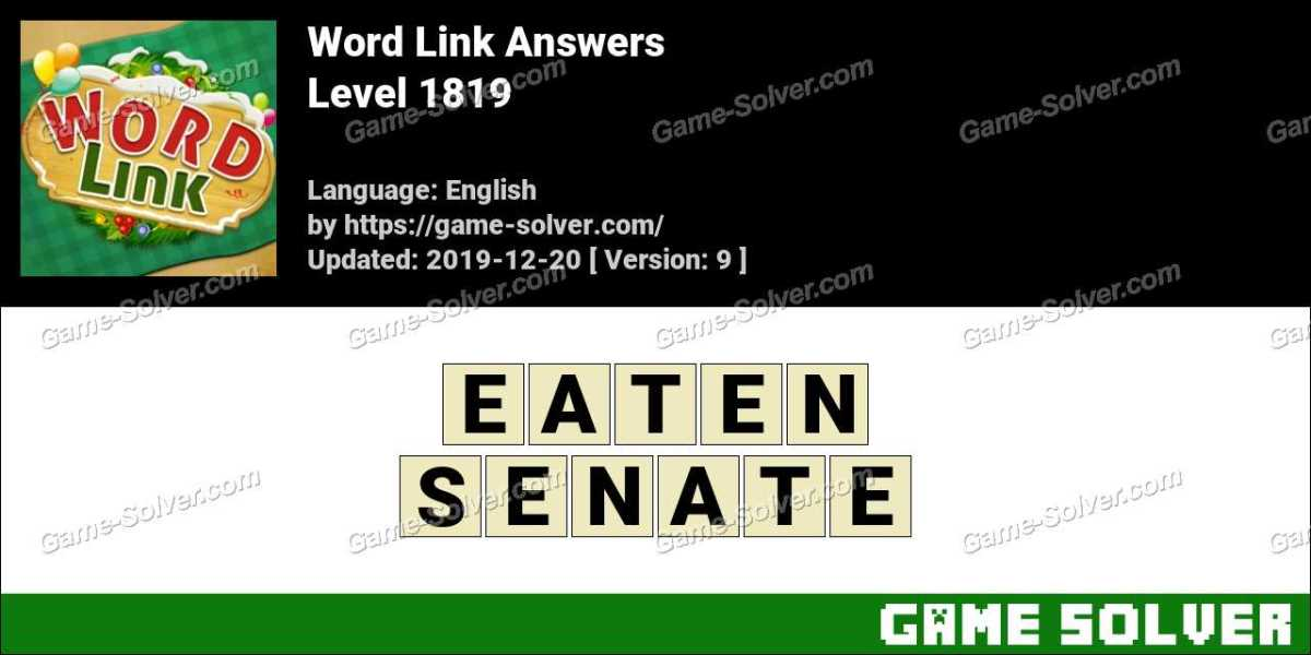 Word Link Level 1819 Answers