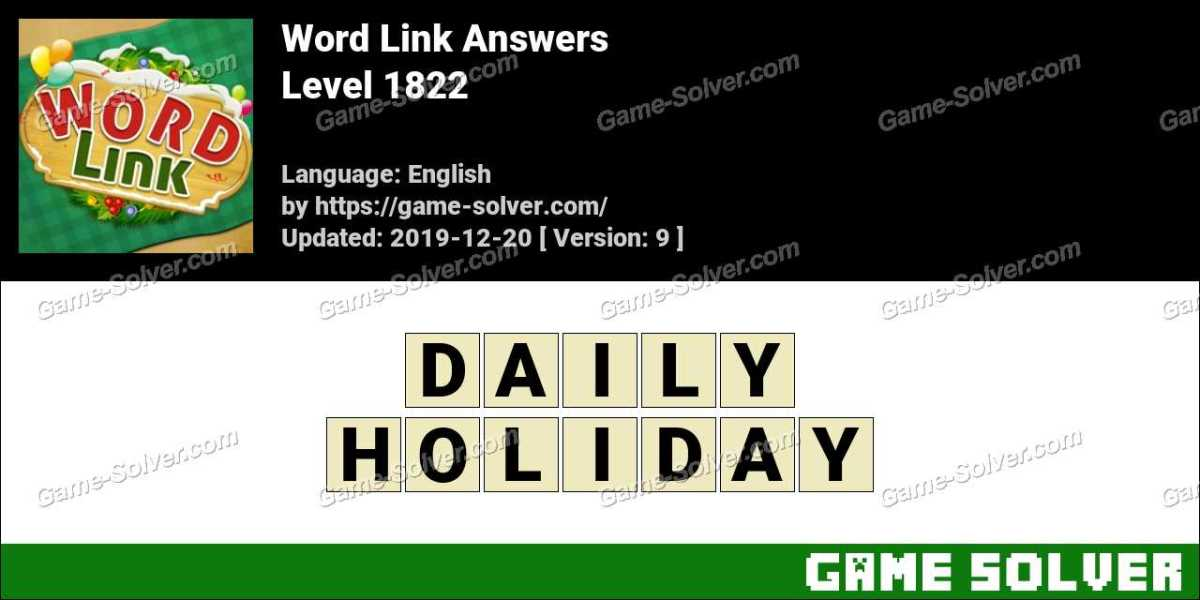 Word Link Level 1822 Answers