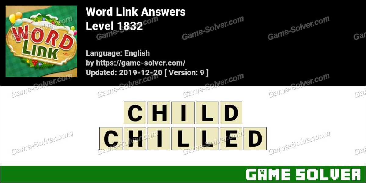 Word Link Level 1832 Answers