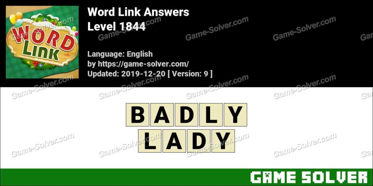 Word Link Level 1844 Answers