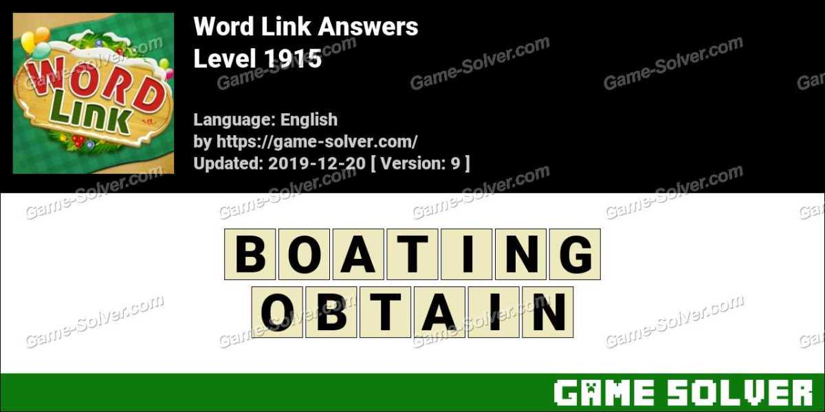 Word Link Level 1915 Answers