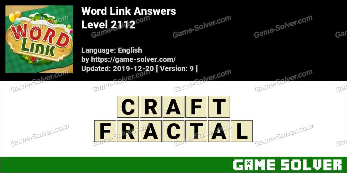 Word Link Level 2112 Answers
