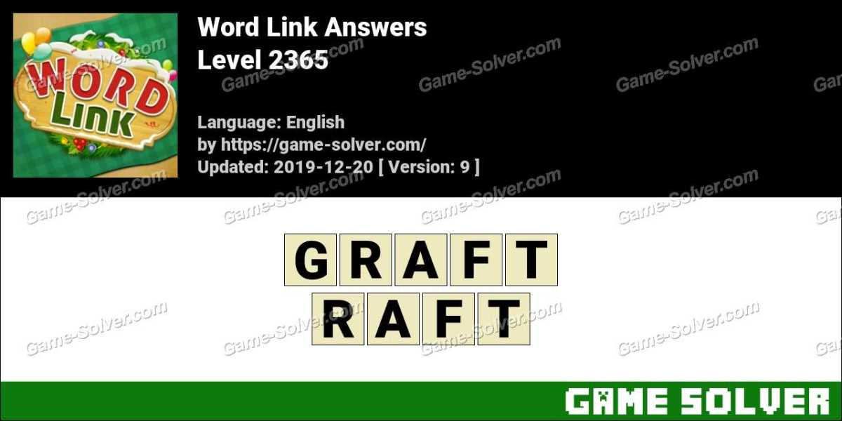 Word Link Level 2365 Answers