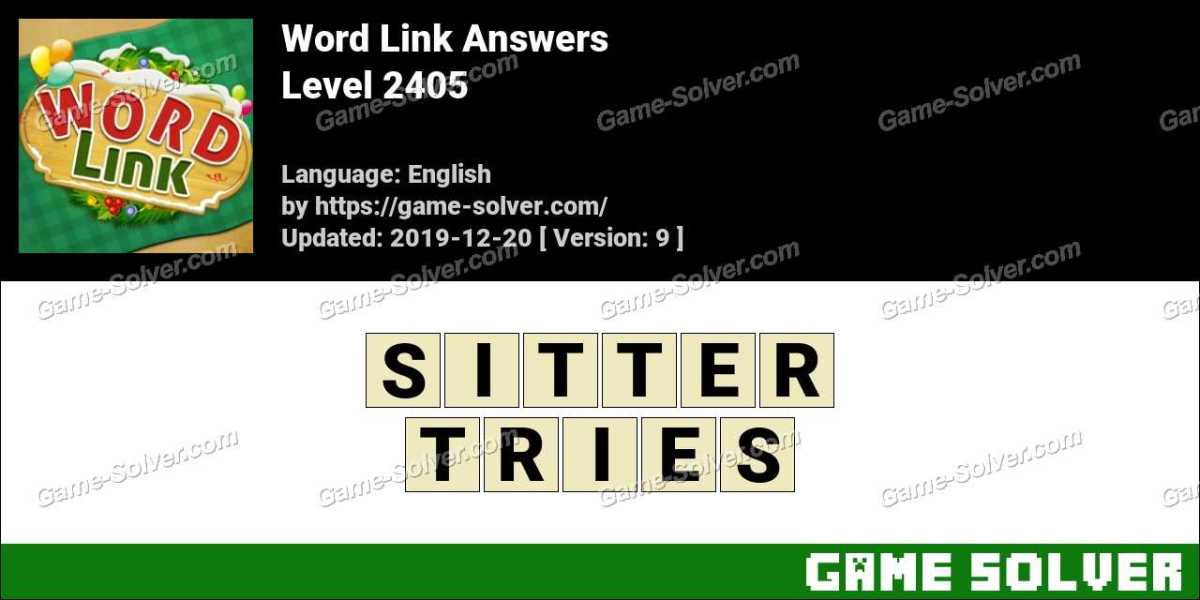 Word Link Level 2405 Answers