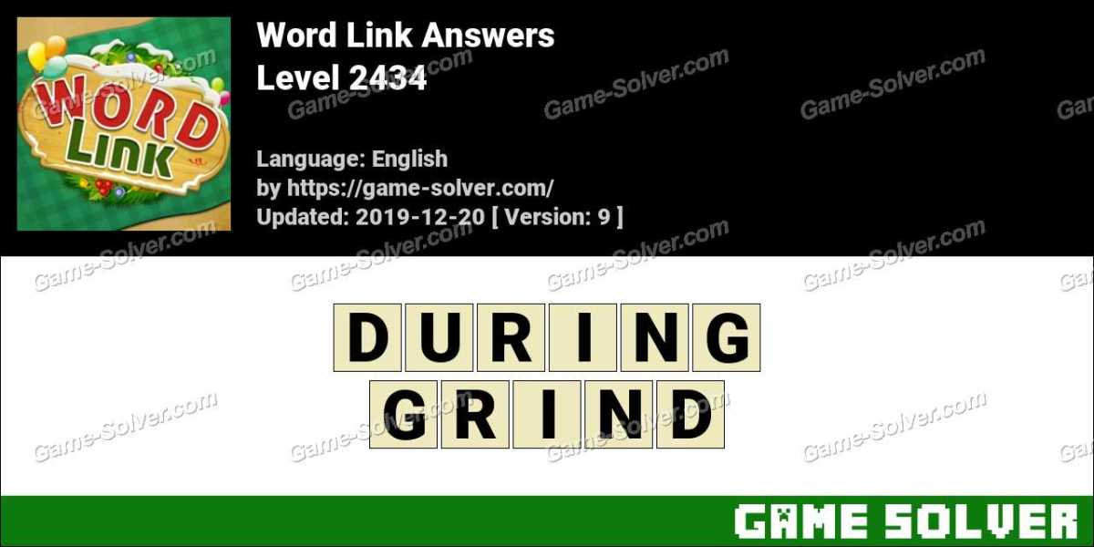 Word Link Level 2434 Answers