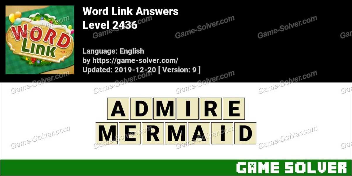 Word Link Level 2436 Answers