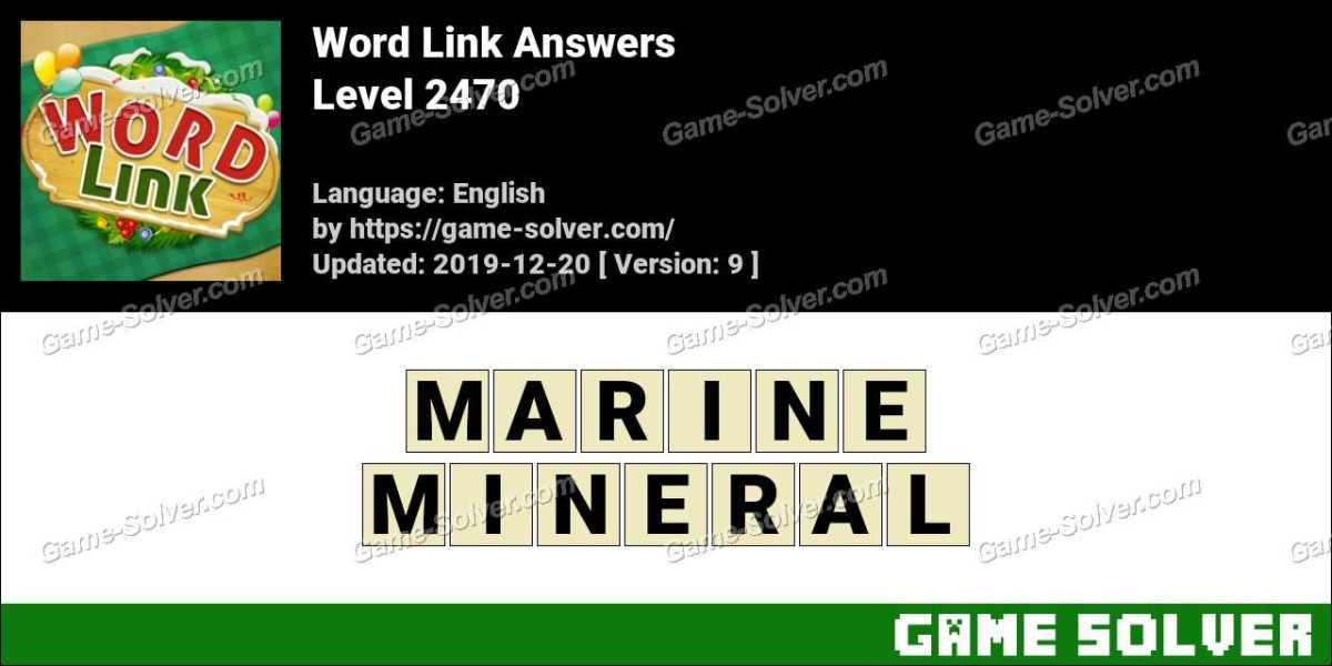 Word Link Level 2470 Answers