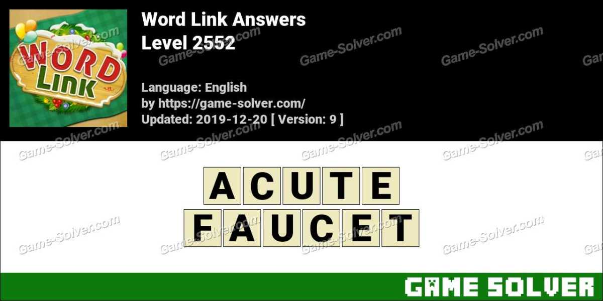 Word Link Level 2552 Answers