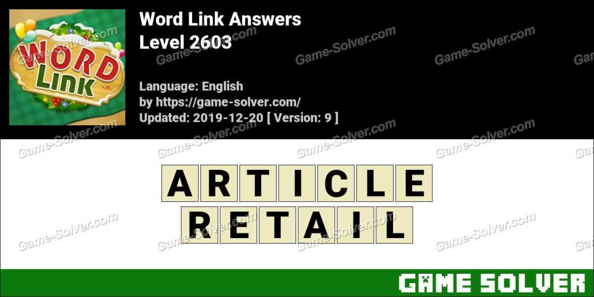 Word Link Level 2603 Answers