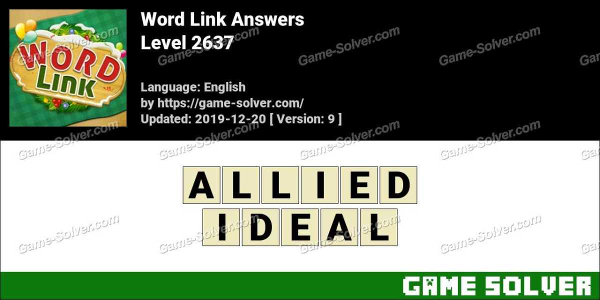 Word Link Level 2637 Answers