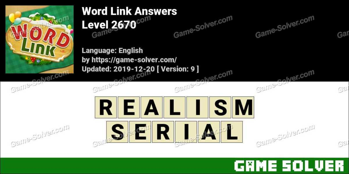 Word Link Level 2670 Answers