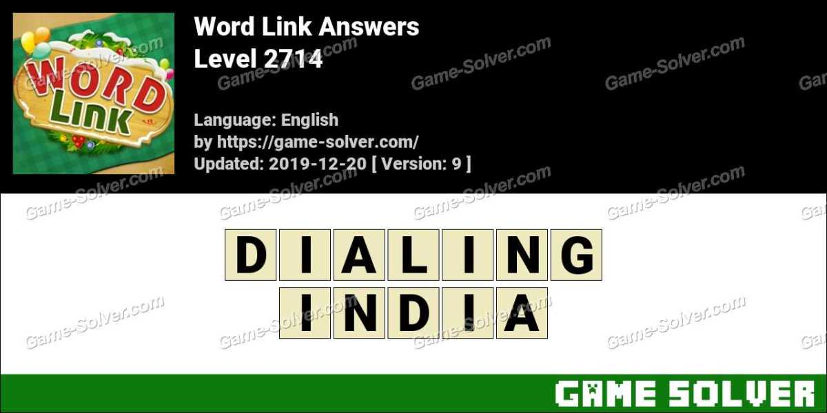 Word Link Level 2714 Answers