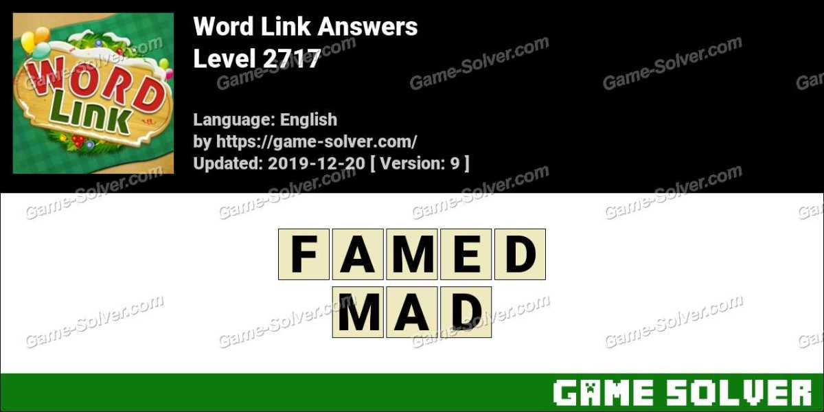 Word Link Level 2717 Answers