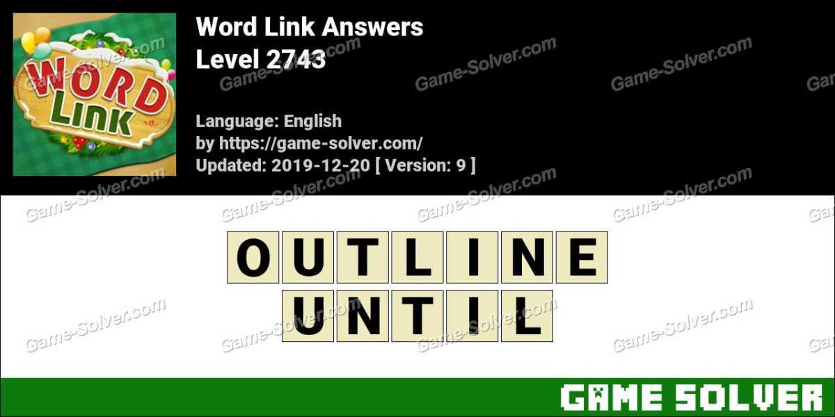 Word Link Level 2743 Answers
