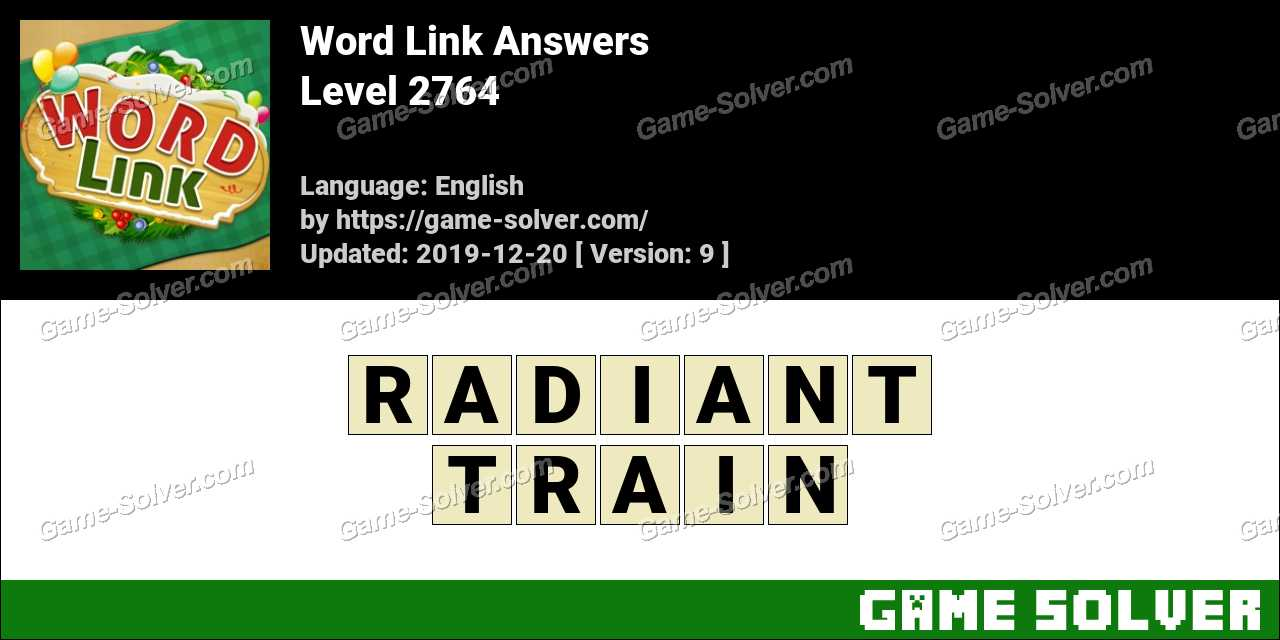Word Link Level 2764 Answers