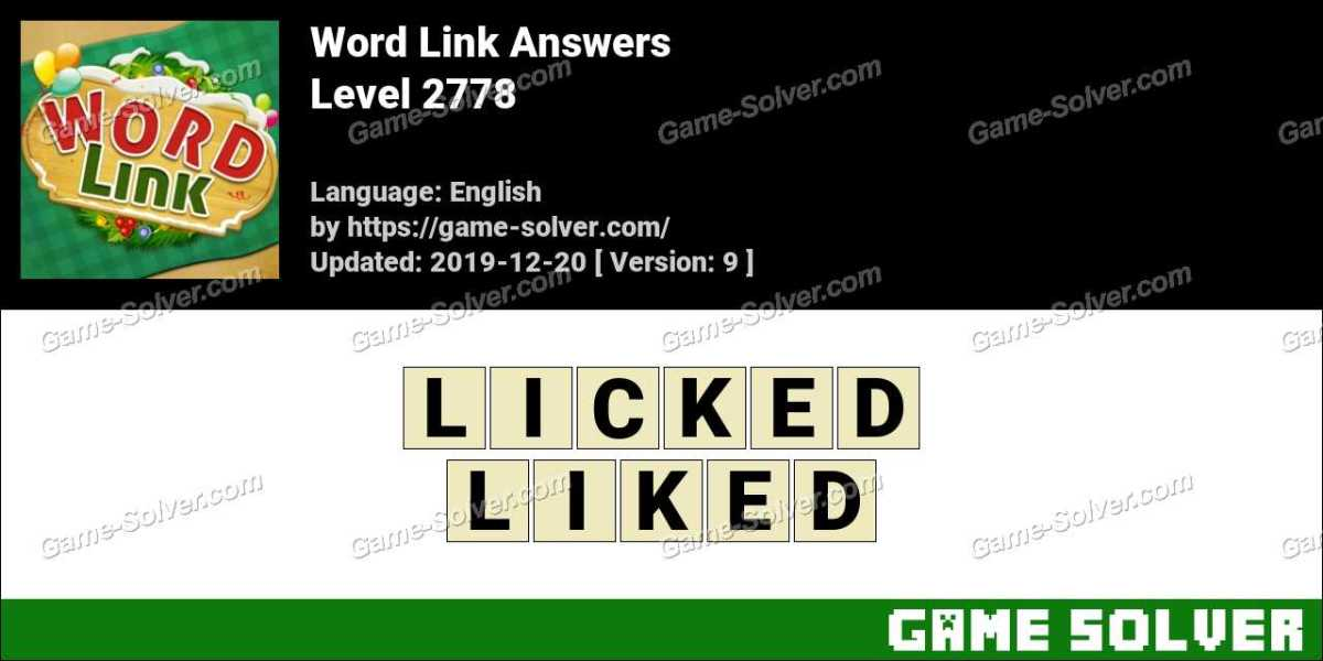 Word Link Level 2778 Answers