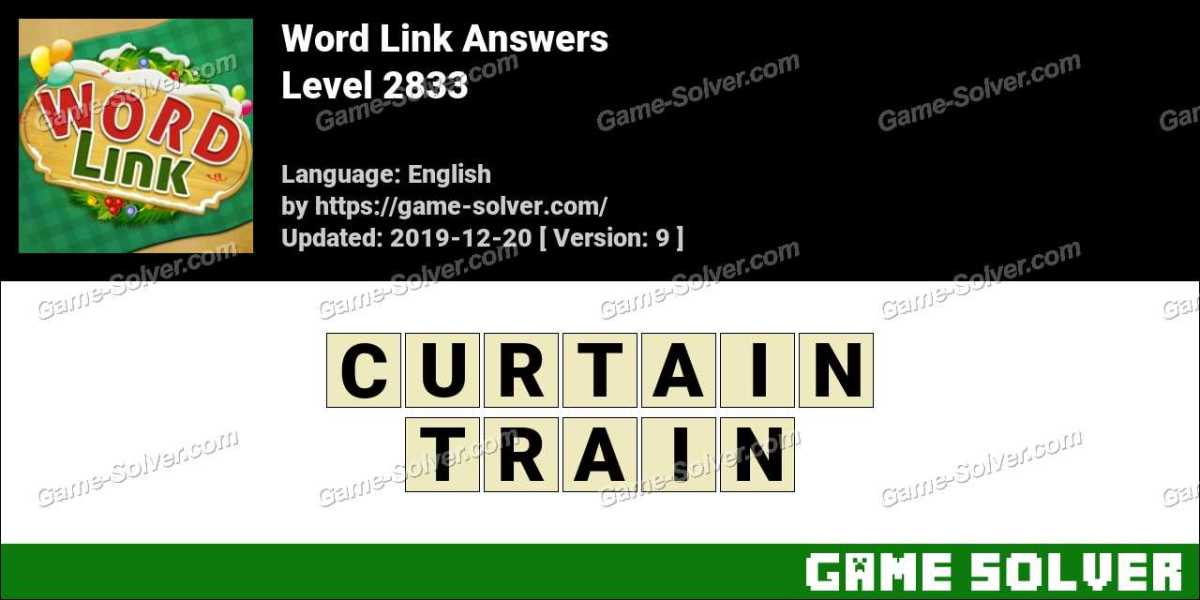 Word Link Level 2833 Answers