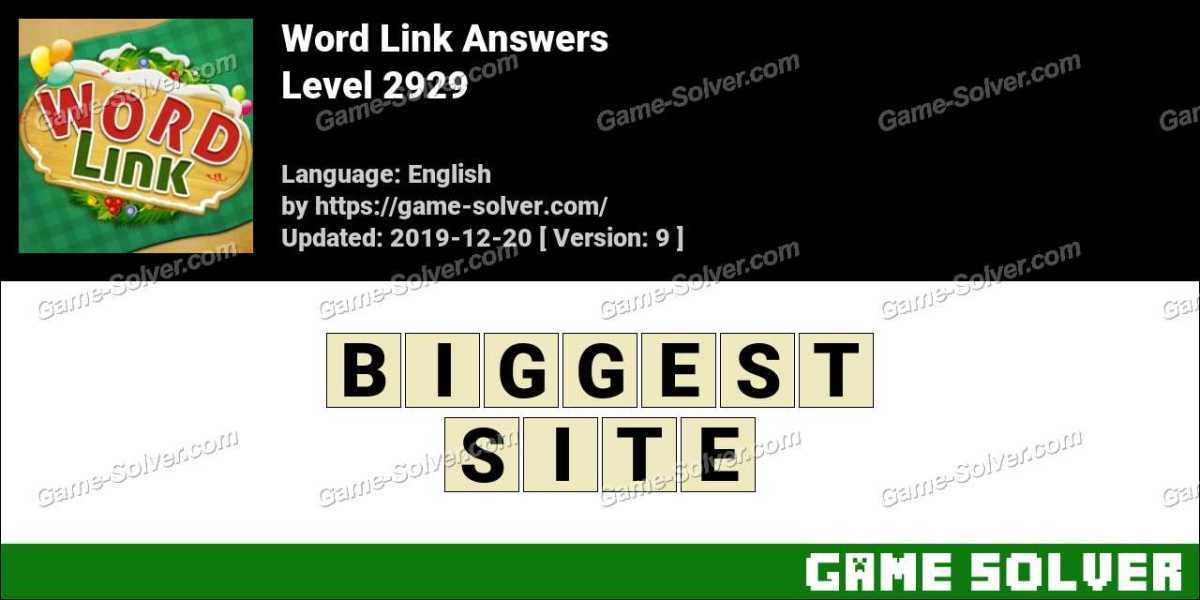Word Link Level 2929 Answers