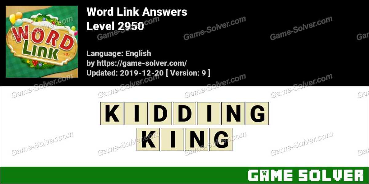 Word Link Level 2950 Answers